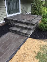 steps and retaining walls bring beauty to your yard