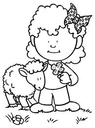 Klein Meisje Kleurplaat Ausmalbilder Fr Kinder Hund Kleurplatenlcom