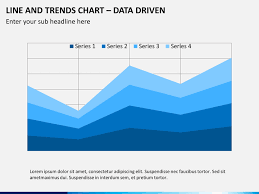 Line Chart Ppt Line Trends Charts