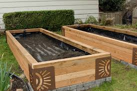 self watering garden bed. Unique Bed How To Build Subirrigated Raised Garden Beds In 12steps With Self Watering Garden Bed
