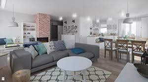 salon styl skandynawski zdjęcie od pracownia aranżacji wnętrz o kreślarnia salon