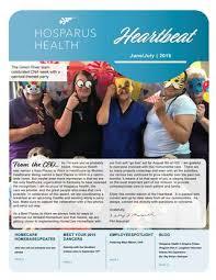 Heartbeat June July 2019 By Hosparus Health Issuu