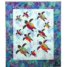 Turtle Quilt Pattern | eBay & Turtle Trails Quilt Pattern By Southwind Designs Adamdwight.com