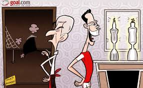 van persie claims two trophies but