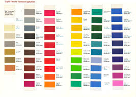 3m Scotchcal Vinyl Color Chart Glacier Sign Lighting Inc