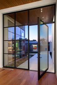 Gorgeous Entry Steel Pivot Door Rehme Steel Windows  Doors - Exterior pivot door