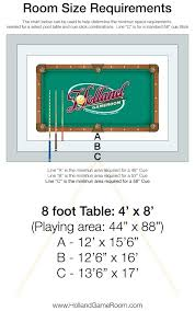 Pool Table Sizes Chart Sizes Of Pool Tables Shineseosolutions Site