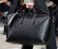 louis vuitton luggage men. louis vuitton\u0026 new fall 2016 men\u0026 bags include a black and grey damier, called damier eclipse. vuitton luggage men