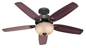 44 inch ceiling fan with light hunter ceiling fan hampton bay clarkston 44 in brushed nickel