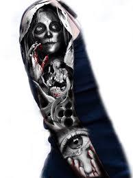Sugar Skull Sleeve тату тату руки искусство тату и эскиз тату
