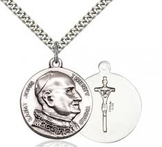 saint john iii medal sterling silver