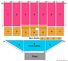 West Virginia State Fair Seating Chart