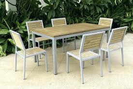metal patio furniture sets metal patio dining chairs collection in metal and wood outdoor furniture rectangular metal patio furniture sets
