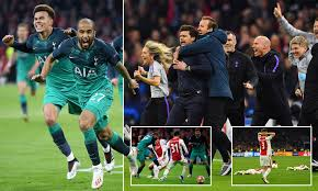 Ajax 2-3 Tottenham (Agg 3-3): Spurs to face Liverpool in ...