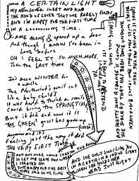 Josh Ritter Lights Lyrics Hello Blackbird Hello Starling Winters Over Be My