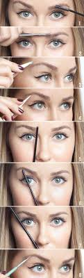 eyebrow shaping guide. brow shaping tutorials - shape your eyebrows at home awesome makeup tips for how to eyebrow guide