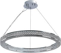 maxim 39773bcpc eternity polished chrome led pendant light fixture loading zoom