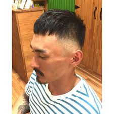 外国人風スキンフェード Hair Studio Romeoロメオのヘアスタイル