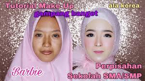 cara tutorial makeup perpisahan sekolah smp sma et