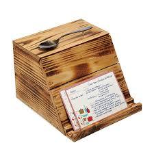pallet wood recipe box 1 thumbnail