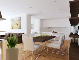 Open Plan Kitchen Living Room Open Plan Kitchen Dining Room And Living Room Interesting D From