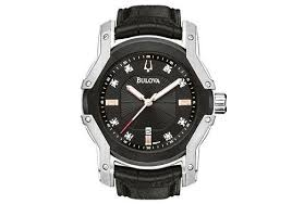 bulova wintermoor diamond mens watch