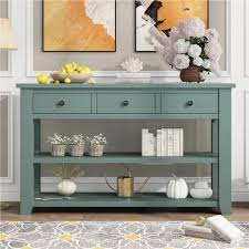 modern style wooden console table