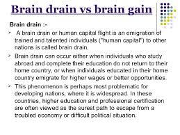 brain drain brain drain