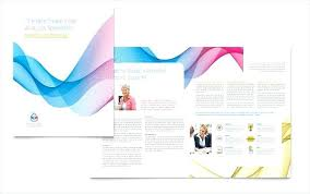 Trifold Template For Word Brochure Template Word Free Tri Fold Microsoft Publisher