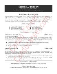 Ideas of Sample Resume Of Experienced Mechanical Engineer In Cover