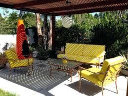 Image Vintage Midcentury Modern Patio Furniture Mid Century Yellow Outdoor For Sale Rlci Midcentury Modern Patio Furniture Mid Century Yellow Outdoor For