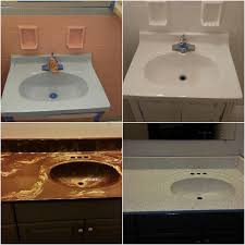 bathtub refinishing sink refinishing before after to view