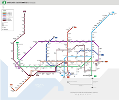 shenzhen subway map metro lines stations