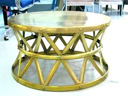 silver drum coffee table round drum coffee table round metal coffee tables metal coffee table base silver drum coffee table