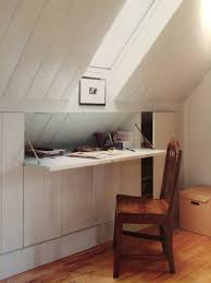 Loft Storage Beautiful Things 15 A Desk With A View Hidden Desk Attic