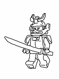 Ninjago Coloring Pages Nya Lego Ninjago Gold Ninja Colouring In