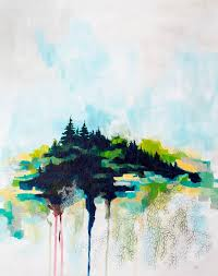 saatchi art artist megan carty painting rooted in maine abstract landscape painting