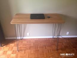 IKEA HILVER standing desk with hairpin legs | IKEA Hackers