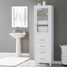 ... Large Size of Bathrooms Cabinets:b&q Under Sink Storage Tall Mirrored  Bathroom Cabinets Uk Shower ...