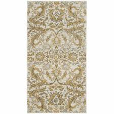 details about safavieh evoke 2 2 x 4 rug in ivory and gold
