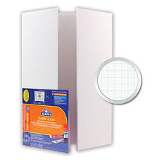 tri fold board size foam board