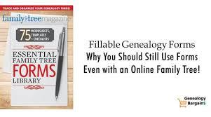 Fillable Genealogy Forms Abundant Genealogy