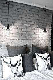 Best  Brick Wallpaper Bedroom Ideas On Pinterest - Grey wall bedroom ideas