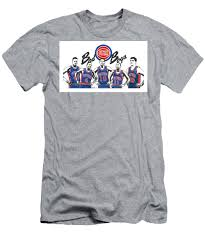 Detroit Bad Boys Pistons T-Shirt for ...