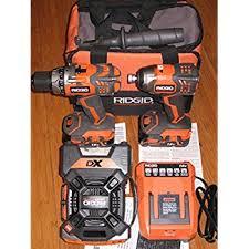 ridgid tools. ridgid 18-volt x4 hyper lithium-ion cordless drill and impact driver combo kit ridgid tools