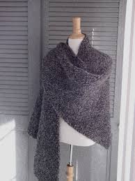 Knit Shawl Pattern Best This Easy Shawl Is All One Stitch So It's Easy To Knit While