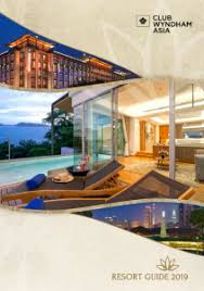 Club Wyndham Points Chart 2016 Resort Guide Club Wyndham Asia