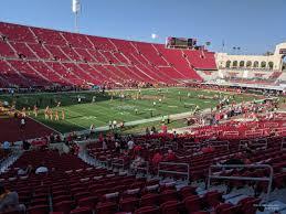 Los Angeles Memorial Coliseum Section 110a Rateyourseats Com