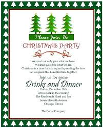 Workplace Christmas Party Invitation Wording Sample 2 Funny Office