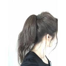 前髪なしポニーテールの作り方は面長に似合う後ろ毛の作り方も Belcy
